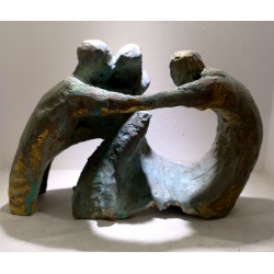 Couto, Miguel (Malpica, 1971) A tres. Bronce